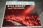 BILL HALEY AND HIS COMETS ROCK N ROLL STAGE SHOW DECCA 8345 33 RPM LP RECORD