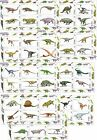 DINOSAURS PREHISTORIC LIFE 2012 9 SOUVENIR SHEETS MNH IMPERFORATED