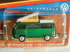 NEW! 1:64 Greenlight *HOBBY GREEN MACHINE* 1968 Volkswagen Type 2 Campmobile NIP