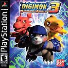 ***DIGIMON WORLD 3 PS1 PLAYSTATION 1 DISC ONLY~~~
