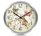 European Rural Quartz Mute Living Room/Bedroom/Study 12-inch Wall Clock KT-218