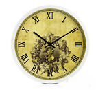 European Fashion Quartz Mute Living Room/Bedroom/Study 12-inch Wall Clock KT-135
