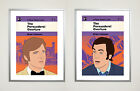 The Persuaders! Poster Set 30 x 40 cm Retro Cult tv 1970s Psych