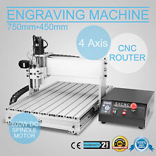 CNC 6040 4 Axis Macchina Per Incisioni Engraver/Engraving Mill Drill 3D Cutting