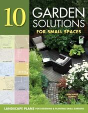 Landscaping Solutions for Small Spaces -10 smart plans for designing & planting