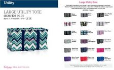 Thirty-One Large Utility Tote - ALL Patterns - IN STOCK ~ 1st Quality
