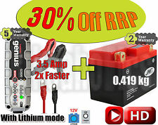 Lithium Deal - Battery + 3.5A charger - Yamaha TZR 50  - 2009