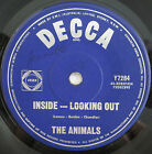 """THE ANIMALS INSIDE LOOKING OUT RARE ORIG OZ RELEASE 7"""" 45rpm RECORD"""