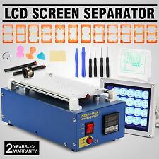 VACUUM LCD SCREEN SEPARATOR GLASS LENS LED UV LAMP SAMSUNG  GALAXY HIGH LEVEL