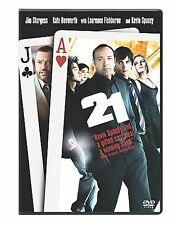21 DVD 2008 Single Disc Version Adult Movie Rating PG-13 Kevin Spacey Video Sale