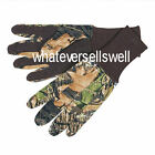 DOT PALM GRIP CAMO JERSEY GLOVES MOSSY OAK Shooting Hunting BREAK UP stalking