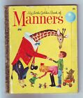 Vintage- My Little Golden -Book Of Manners-1962 #460