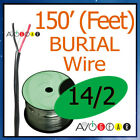 150' Feet Direct Burial Speaker Wire 14 Gauge FT4 NEW