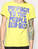 Mens Yellow Gio Goi T-shirt. Size | S | M | L | XL |  New