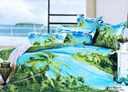 New Reactive Dying Long King/Queen Size Quilt Cover Set Set 210x240cm Post Free