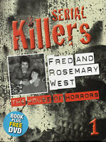 Serial Killers - Fred & Rosemary West - House Of Horrors - Dvd & Book - Vol 1 -