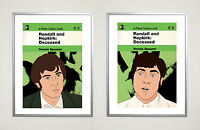Randall and Hopkirk: Deceased Poster Set 30 x 40 cm Retro Cult tv 1960s Psych