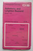 1974 OS Ordnance Survey map 1:50000 First Series 165 Aylesbury  Leighton Buzzard