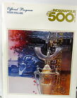 1983 INDIANAPOLIS INDY 500 OFFICIAL PROGRAM TOM SNEVA WINNER