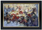 Framed Quality Hand Painted Oil Painting Abstract Oil Symphony 24x36in