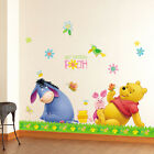 POOH&PICNIC Art Deco Wall Paper Sticker KIDS NURSERY
