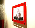 """RED GLOSS ACRYLIC 10MM 12X14"""" picture PHOTO FRAME for 8x10"""" (20x25cm PHOTO pixi"""