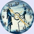 Nightmare Before Christmas Cd Clock Can be personalised