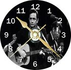 Jonny Cash Novelty Cd Clock Can be personalised