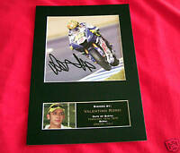VALENTINO ROSSI Signed Autograph Mounted Photo Repro A4 Print 33
