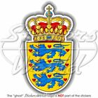 DENMARK Danish National Coat of Arms - Bumper Sticker