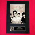 THE SMITHS Signed Autograph Mounted Photo Repro A4 Print 115