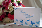 Sample Butterfly Modern Wedding Invitation - Diamante - Day / Evening Invite