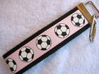 SOCCER-PINK Key Fobs (really cute keychains)
