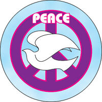 "New, PEACE White Dove 1"" PIN BADGE Button"