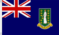 British Virgin Islands Large Country Flag 5' x 3'