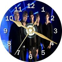 One Direction Cd Clock Can be personalised