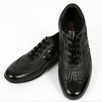 Stylish Lace Black Casual Sneakers Shoes Mens