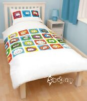 Disney Club Penguin Arctic Single Duvet Cover Bed Set