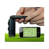LED Microscope lens for iPhone 4 100x Magnification - GIFTS & GADGETS -