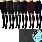 L37 Winter,Seamless,Thick,Fleece Lined Footed Tights S/M.Black,Brown,Gray,Blue..