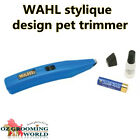 WAHL Stylique Design Pet Trimmer Cordless for Dog Grooming GENUINE