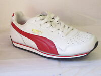 """MENS PUMA TRAINERS """"WHITE/RED"""" """"COMMANDER"""""""