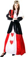 ALICE IN WONDERLAND/PANTO/STAGE Deluxe Queen of Hearts Costume  ALL SIZES
