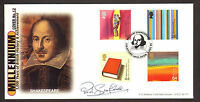 #GB AG BRADBURY FDC SHAKESPEARE ARTISTS TALE SIGNED BY PAUL SCOFIELD LTD EDITION