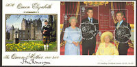 #GB A G BRADBURY FDC QUEEN MOTHERS 100th SIGNED EARL OF STRATHMORE LTD EDITION