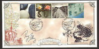 #GB A G BRADBURY FDC WATER AND COAST SIGNED BY DAVID BELLAMY LTD EDITION