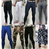 New Mens COMPRESSION Base Layer Pants or Short tight under skin sports gear