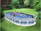 """SWIMMING POOL PACKAGE 15' x 30' x 52"""" ABOVE GROUND OVAL"""