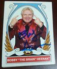Bobby Heenan Signed 2008 Topps Heritage WWE Card #75 Autograph Legends Auto'd IV