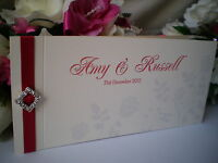 Sample Cheque Book - Roses Love Wedding Invitation - Menu, Invite, Directions